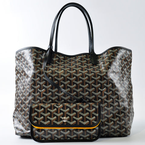 Goyard St. Louis PM Black Tote