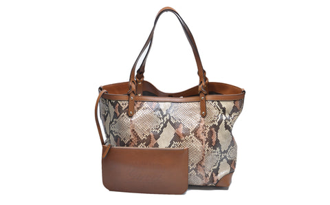 Brown Snake Tote - Glampot