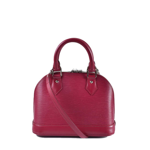 Louis Vuitton Alma BB Epi Fuschia FL1105