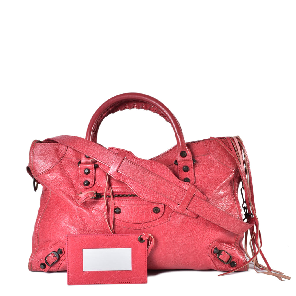 Balenciaga City G12 Rose Thulian (FW 2012)