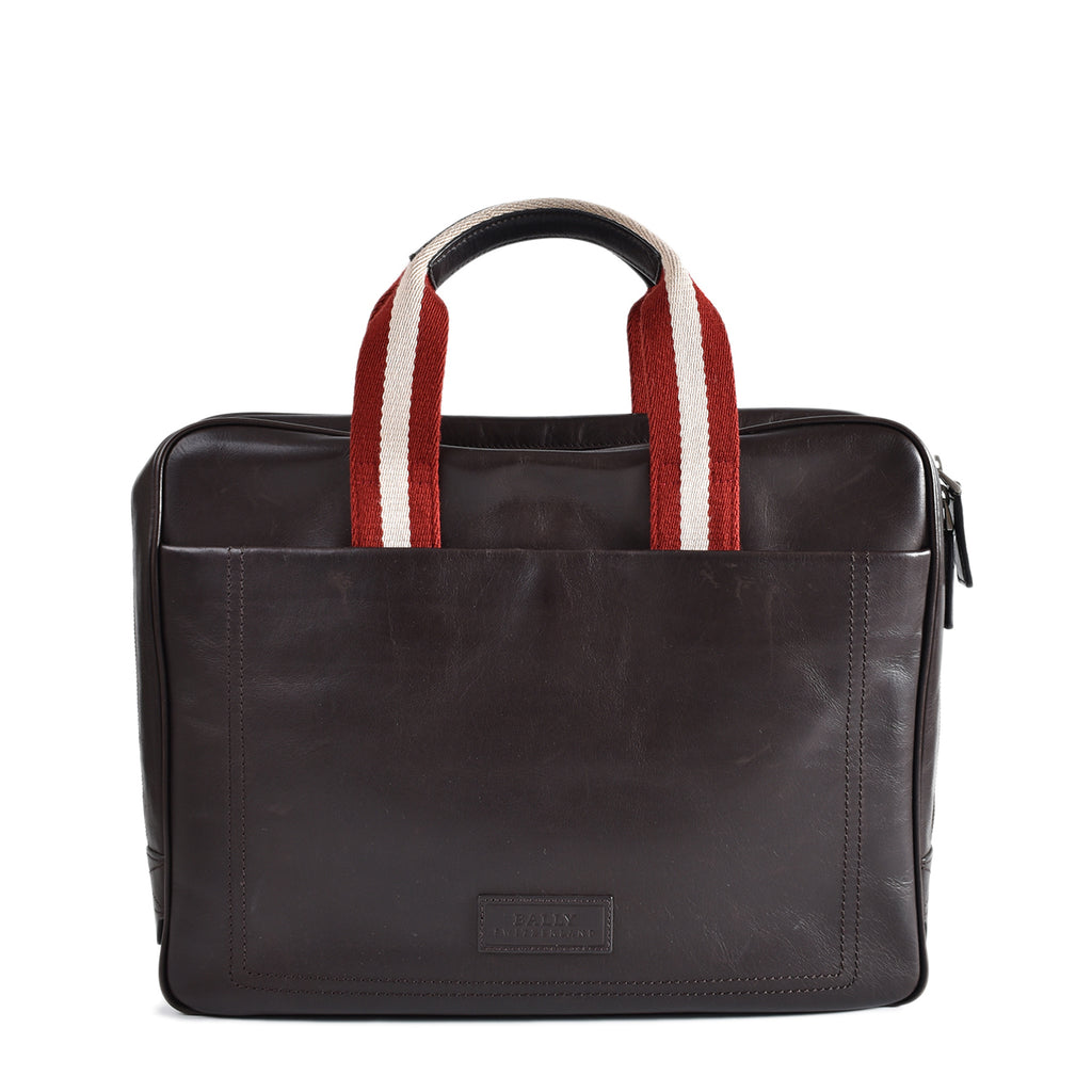 Bally Leather Document Briefcase