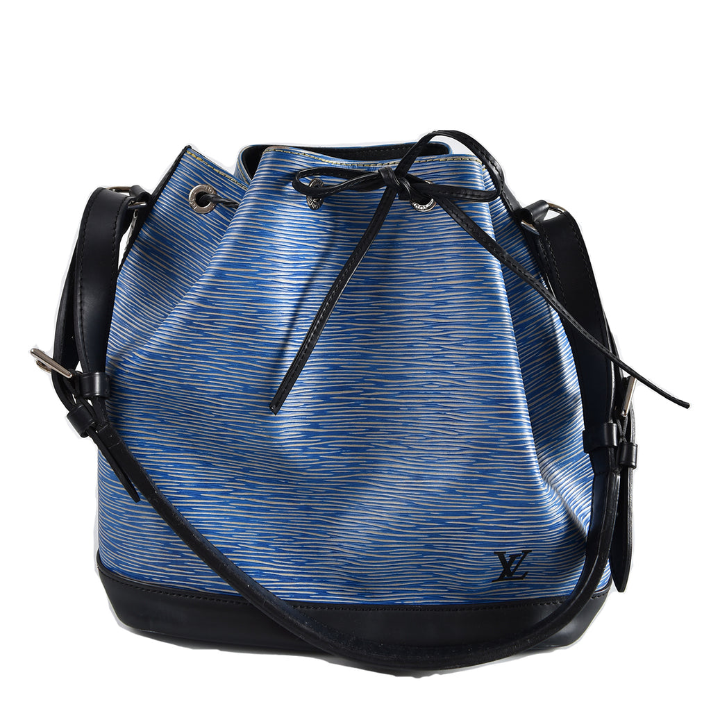 Louis Vuitton Denim Epi Leather Noe Bag