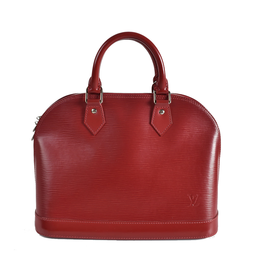 Louis Vuitton Rubis Epi Leather Alma PM Bag