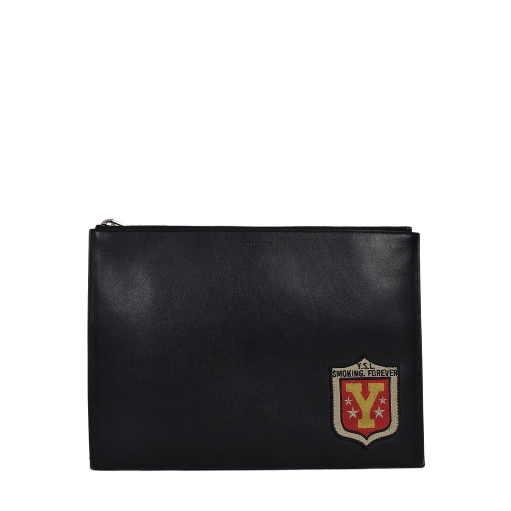 Yves Saint Laurent Smoking Forever Leather Pouch
