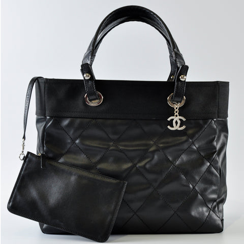 Chanel A34209 Paris Biarritz Large in Black SHW 16708515 - Glampot