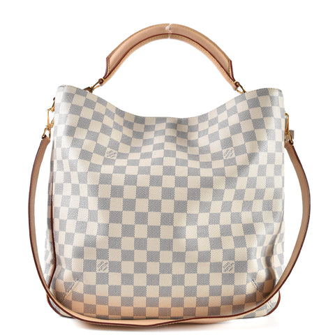 Louis Vuitton Damier Azur Soffi Shoulder Bag AH1163