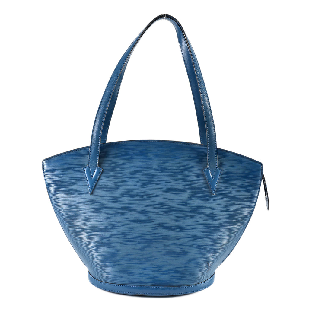 Louis Vuitton Blue Epi Leather Saint Jacques GM Bag
