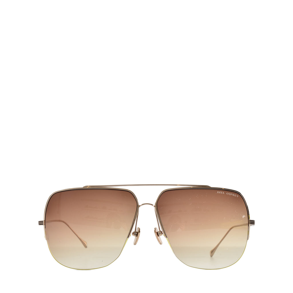 Dita Osprey Sunglasses With Brown Gradient
