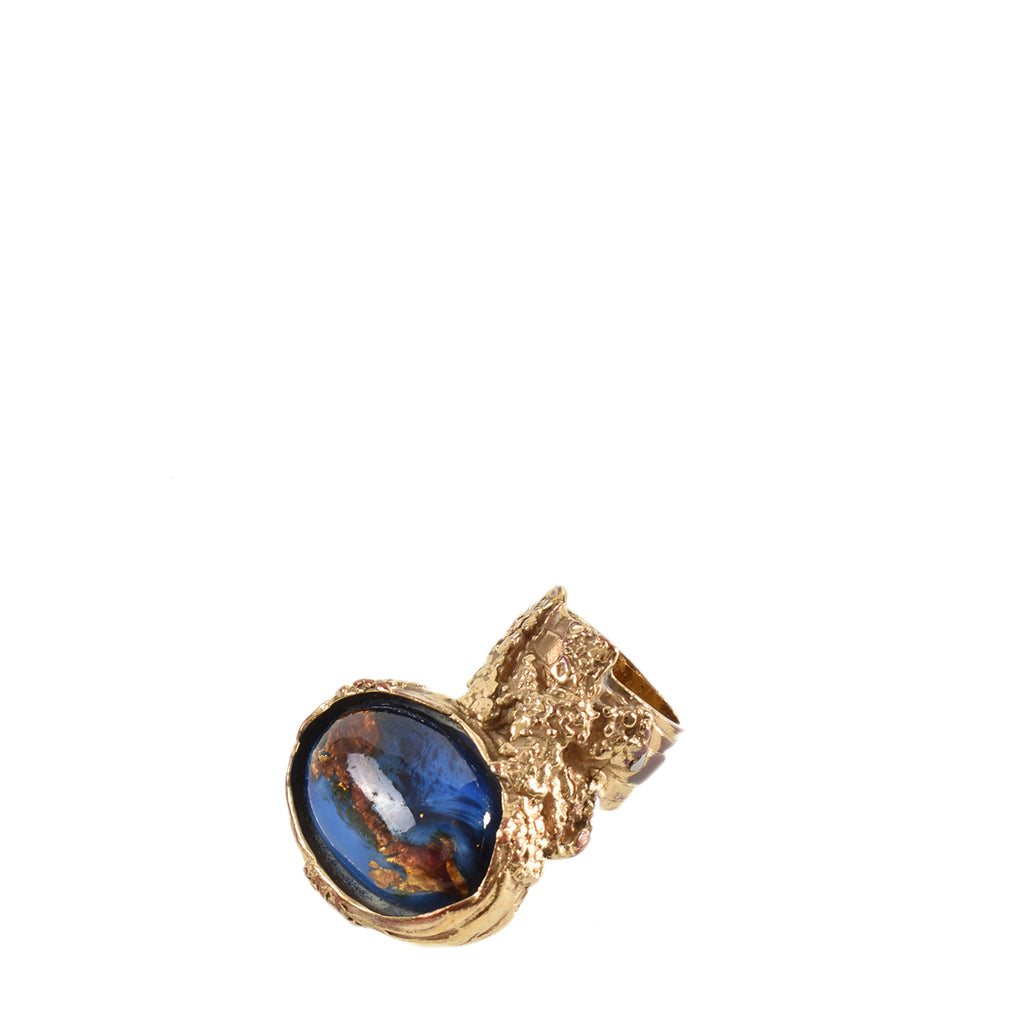 Yves Saint Laurent Arty Ring in Blue