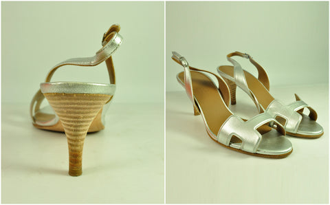 Hermès Night 70 Sandals -Size 36 1/2