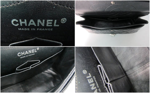 Chanel Reissue 227 Patent Black RHW - Glampot