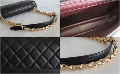 "Chanel A67971 ""Chic with Me"" Small Flap Bag in Black Lambskin F/W 2013 -2014 - Glampot"