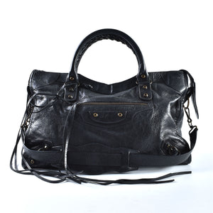 Balenciaga Classic City in Black 115748.1000 001317 (L)