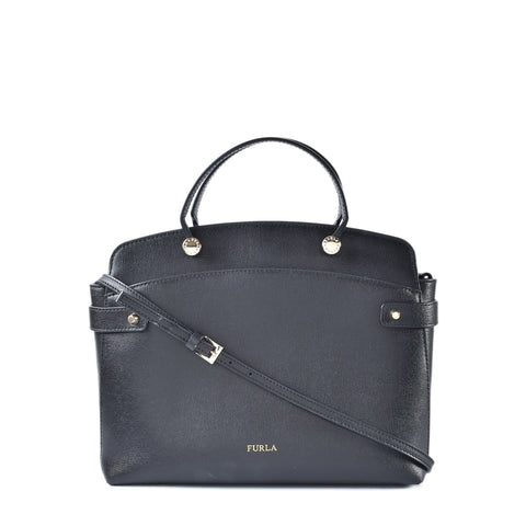 Furla Black 2 Way Bag