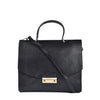 Furla Women's Metropolis Medium Black Top Handle Bag