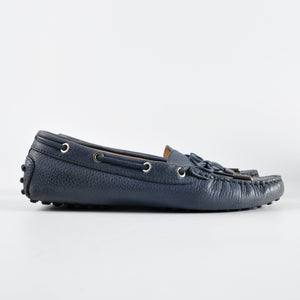 Tod's Gommino In Navy Blue Size: 37.5