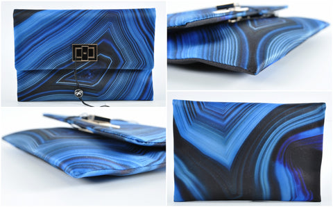 Valorie Lapis Clutch in Blue 3130801376