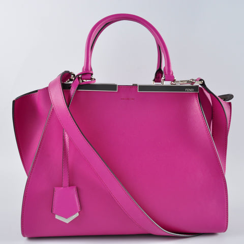 Fendi 3Jours Magenta Satchel Bag