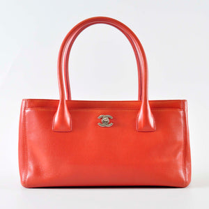 Chanel Orange Leather Petite Cerf Shopping Tote Bag 17016078 (Year 2012 -  2013) - 8f354a8e356a2