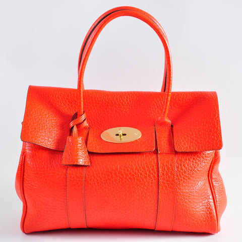 Mulberry Bayswater Orange