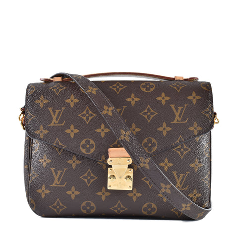 Louis Vuitton Pochette Metis Monogram Canvas DR4137