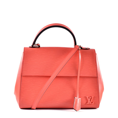 Louis Vuitton M41333 Poppy Epi Leather Cluny MM Bag CA4195