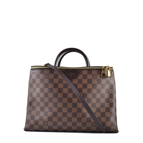 Louis Vuitton Damier Brompton 2WAY Hand Shoulder Bag Ebene N41582
