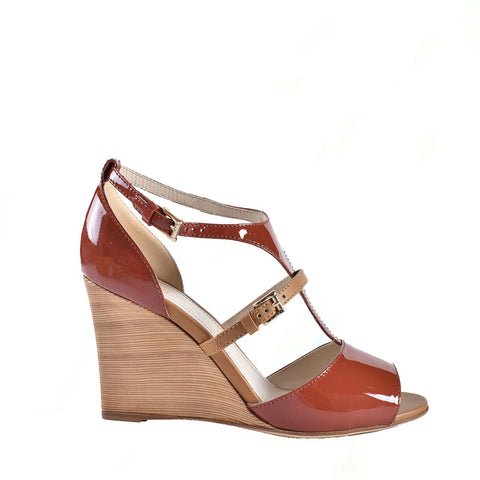 Tod's Wedge Sandal in Brown