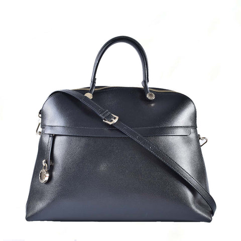 Furla Piper L Dome Onyx in Black