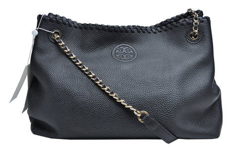 ce5f1bfc037 Tory Burch Marion Chain Shoulder Slouchy Tote – Glampot