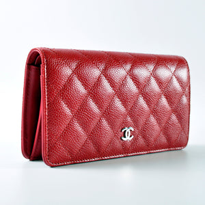 Red Caviar Bi-fold Yen Wallet 21192848