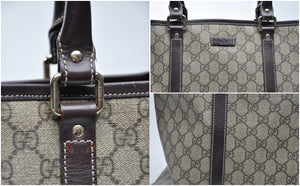 Gucci Brown Monogram Coated Canvas Tote