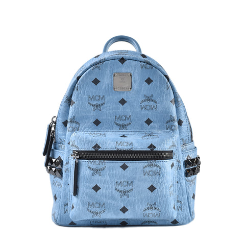 MCM Small Backpack in Blue