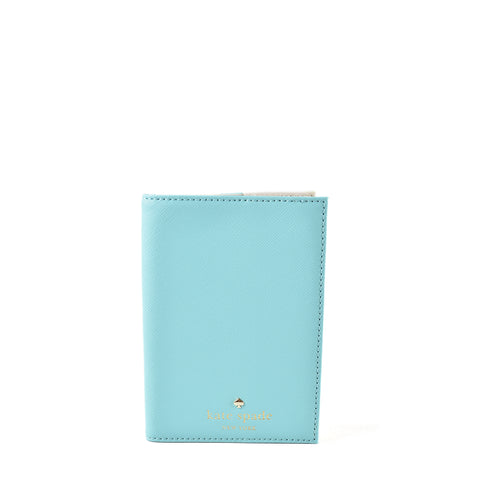 Kate Spade Passport Holder (Mint/Beige)
