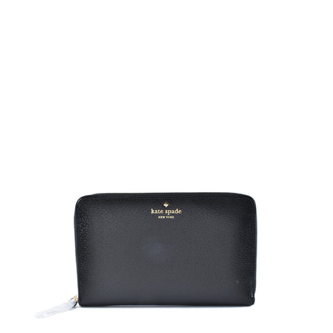 Kate Spade Travel Wallet in Black