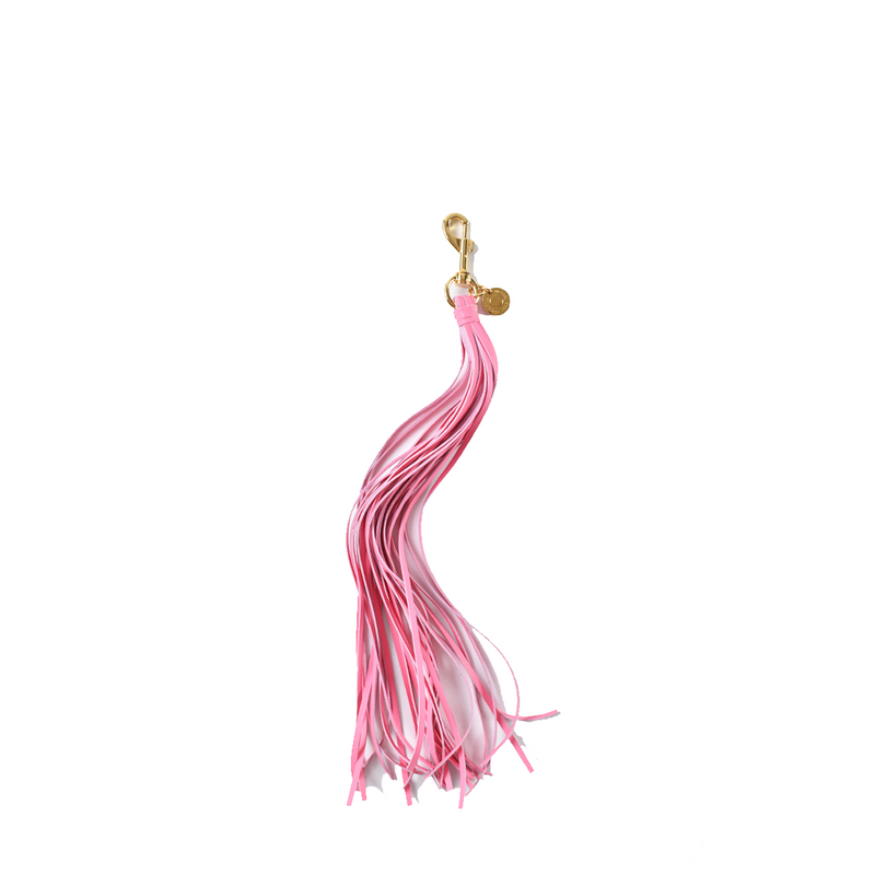 Michael Kors Long Tassel Bag Charm in Pink