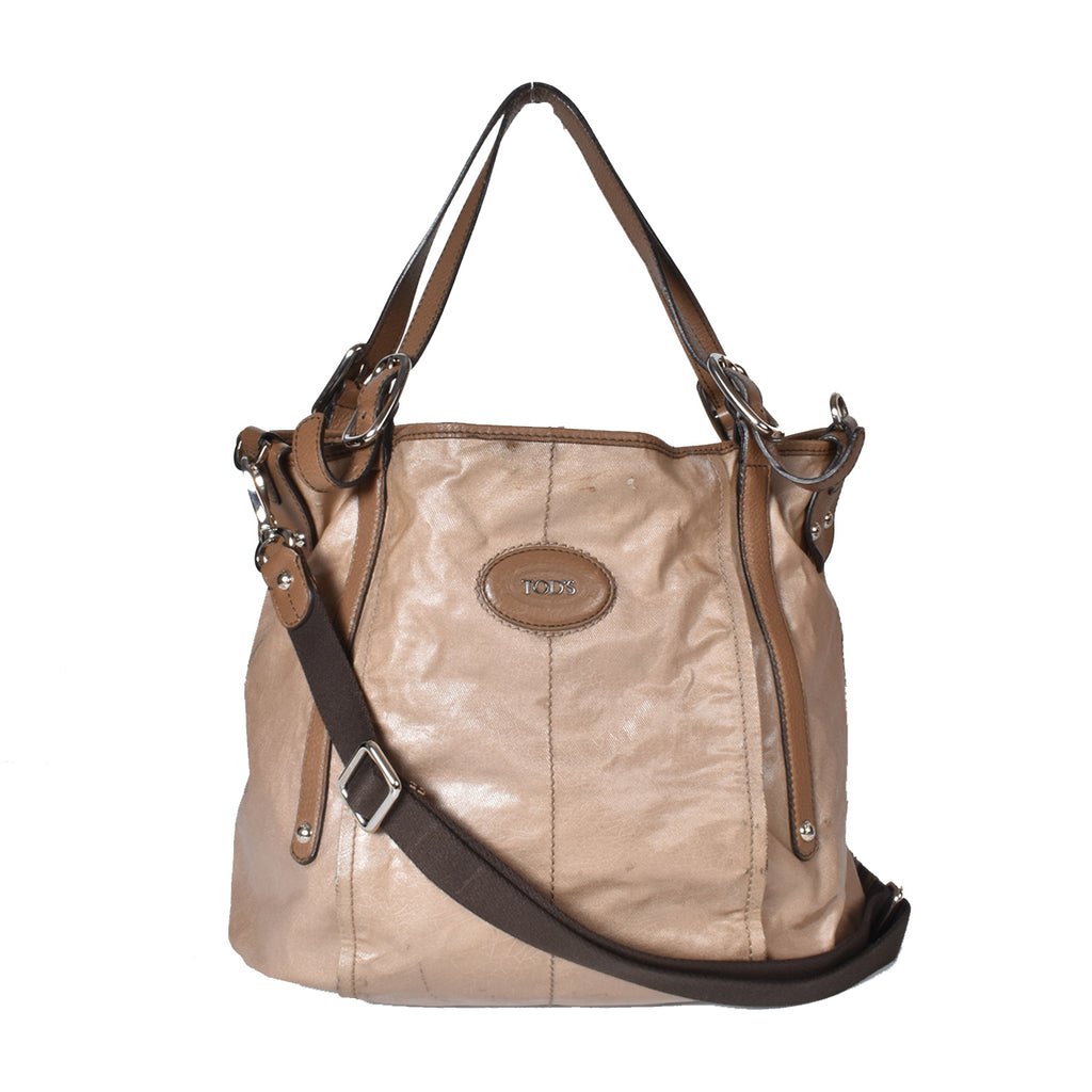 Tod's Medium G-Line Shopping Light Brown Tote