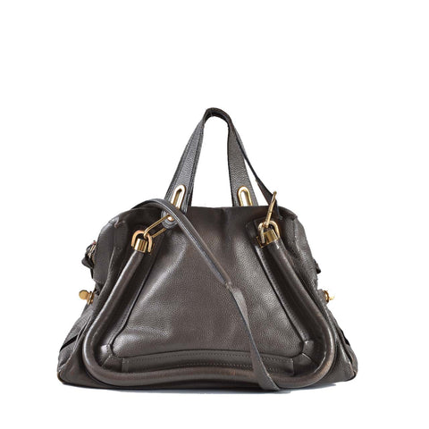 Chloe Paraty Leather Small Bag in Rock 02-12-63