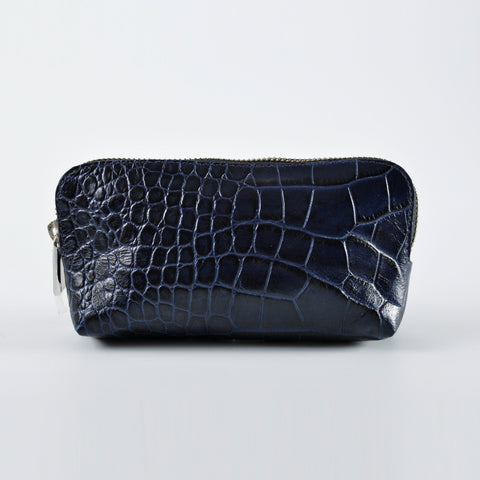 Furla Pouch in Embossed Croc