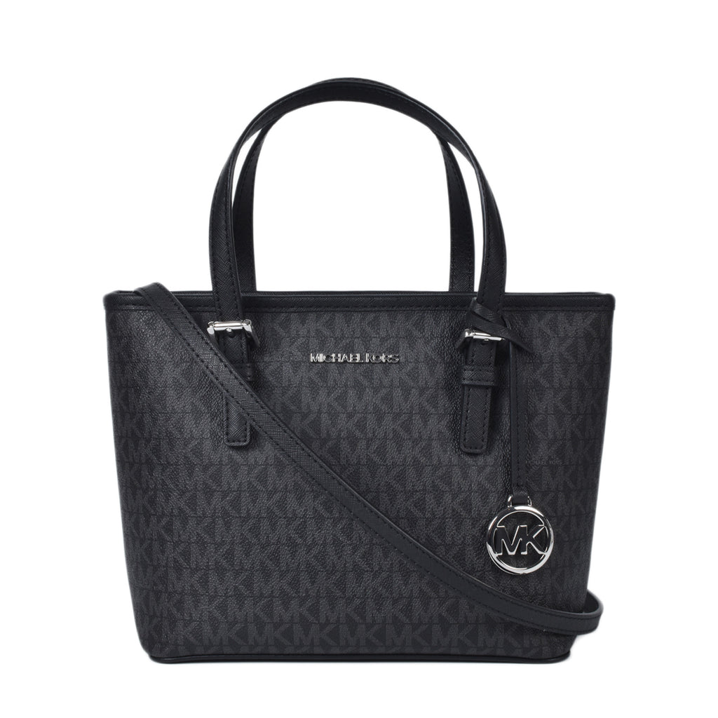 Michael Kors XS Cryl Convertible Top Zip Tote in Black
