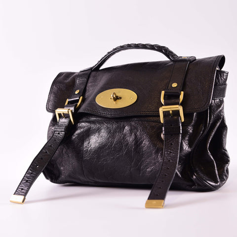 Mulberry Alexa Soft Buffalo in Black 1194250