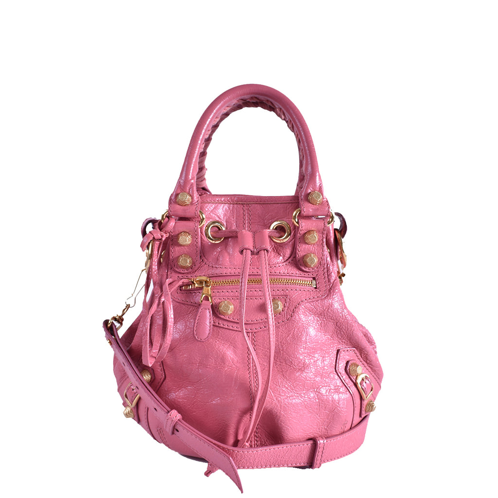 Balenciaga Mini Pompon Bag in Pink 285439 5660 D 1669