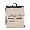 Gucci Calfskin Coco Capitan Logo Drawstring Backpack in Mystic White
