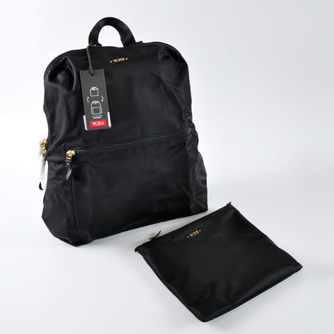 Tumi Black Just In Case Travel Backpack