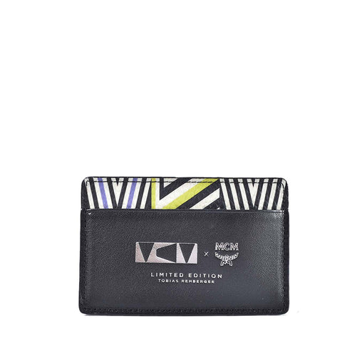 MCM Limited Edition Tobias Rehberger Card Holder