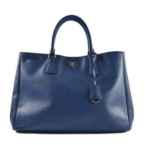 Prada BN1844 Lux Large Open Tote in Bluette Saffiano