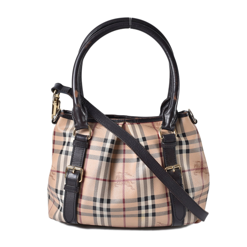 Burberry Classic Check Haymarket Small Northfield Tote