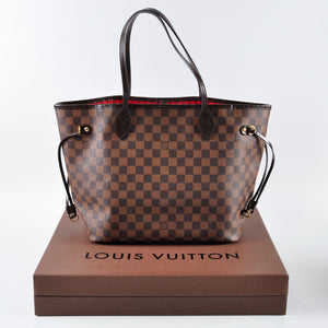 Louis Vuitton Damier Ebene Neverfull MM CA2133