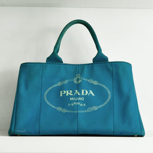 Prada Canvas Tote Bag