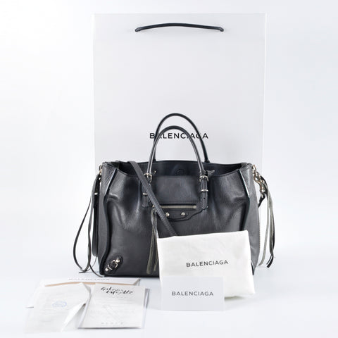 Balenciaga Mini Papier A5 Zip Around Tote 370926.1130.E.535269 - Glampot